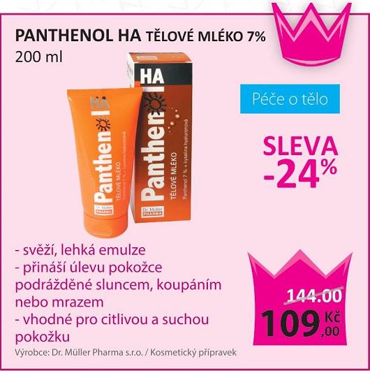 Panthenol HA tělové mléko
