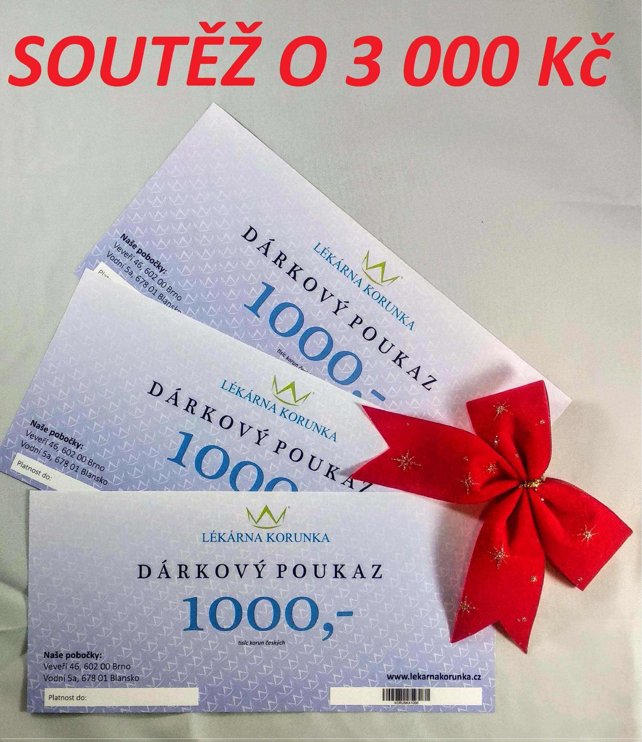 soutěž o 3000Kč – 1