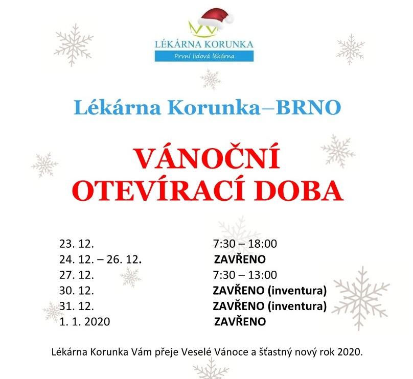 otevírací doba Brno