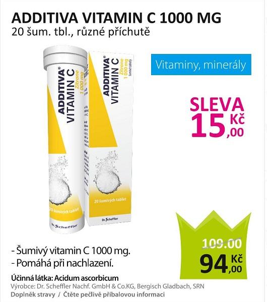 Additiva vitamin C